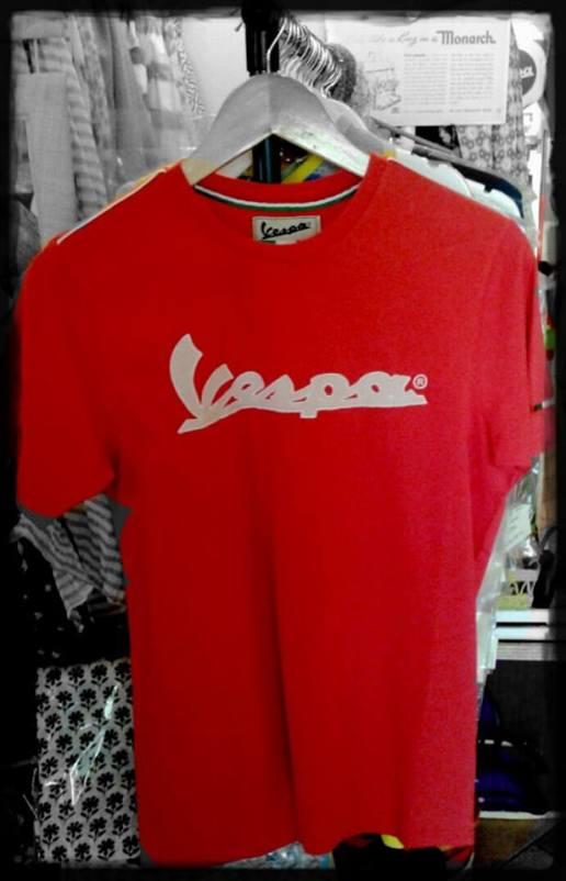 T-shirt Vespa Piaggio ORIGINALI (disponibili in vari colori, stampe e taglie)