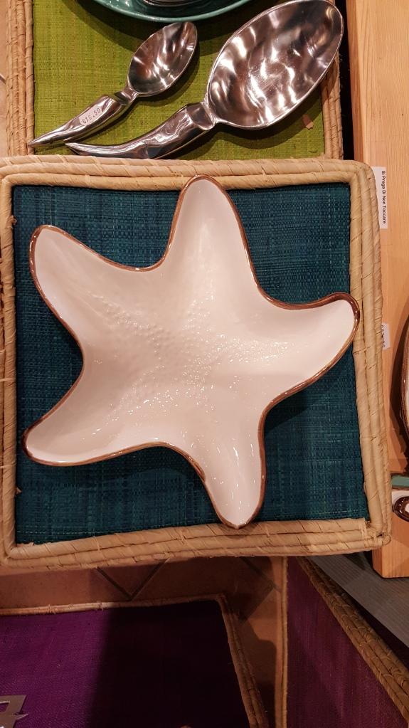 piatto pasta a forma di stella marina