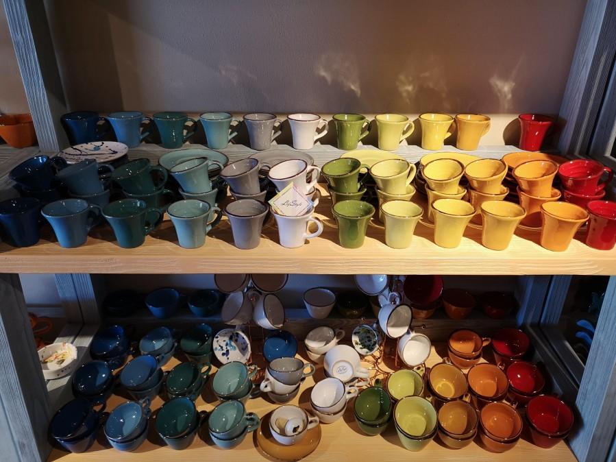 La ceramica Toscana per il caffè