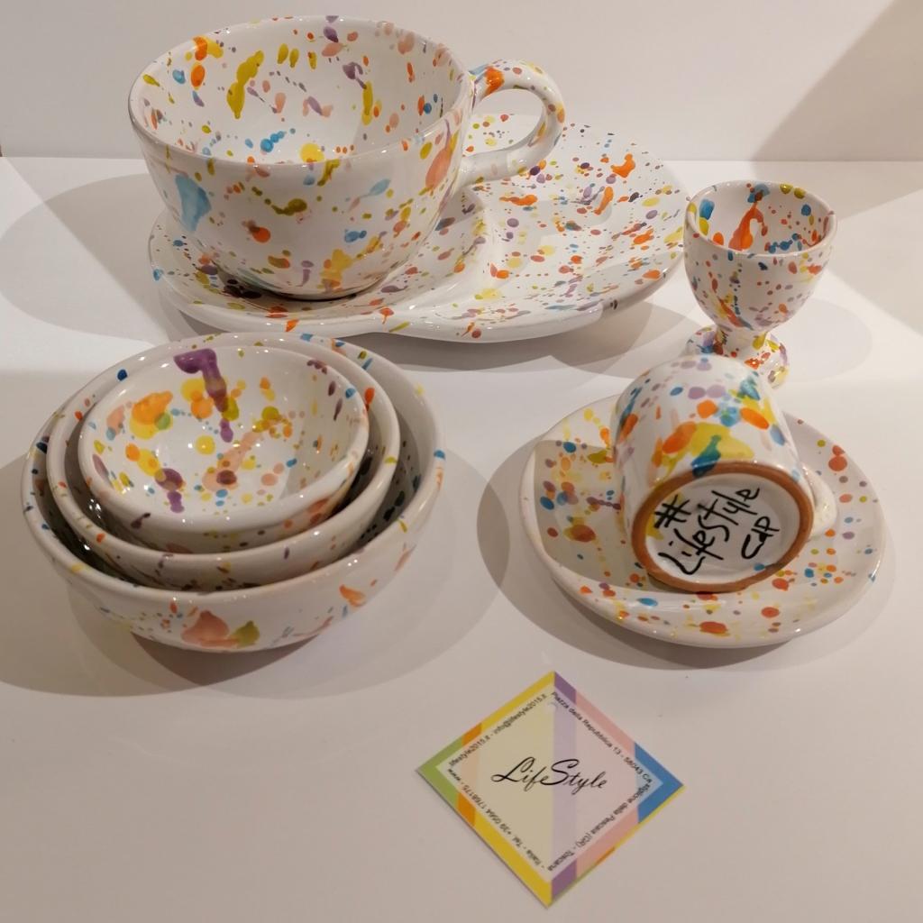Set ceramiche lentiggini di LifeStyle