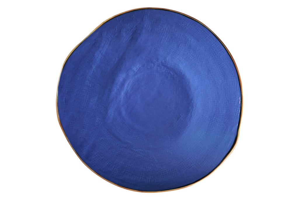 Piatto piano blu